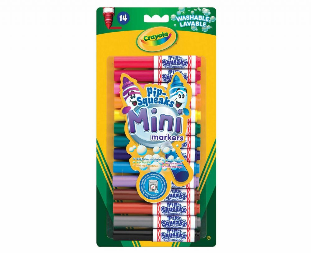 Crayola Pip-Squeaks Mini Marker Pens Pack of 14